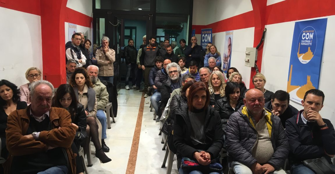IL LAVORO AL CENTRO DEL PROGETTO DELLA LISTA CIVICA DI VALTER PICCHI
