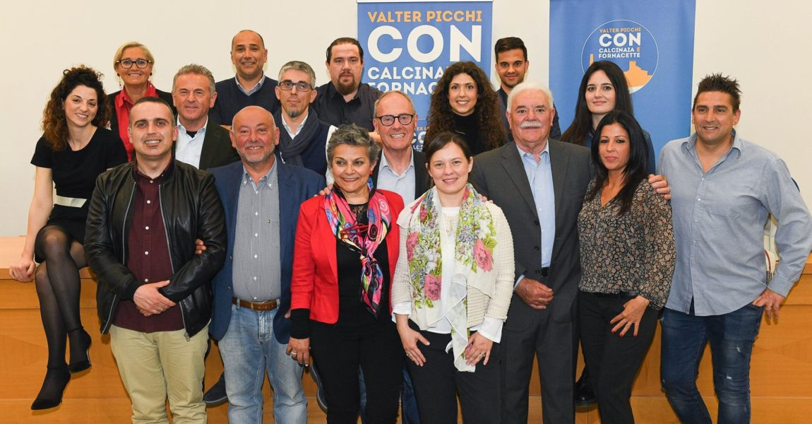 Con Calcinaia e Fornacette, ecco i gruppi di lavoro ed i singoli referenti