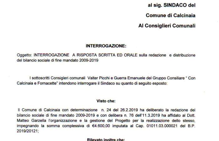 BILANCIO SOCIALE O PROPAGANDA ELETTORALE?